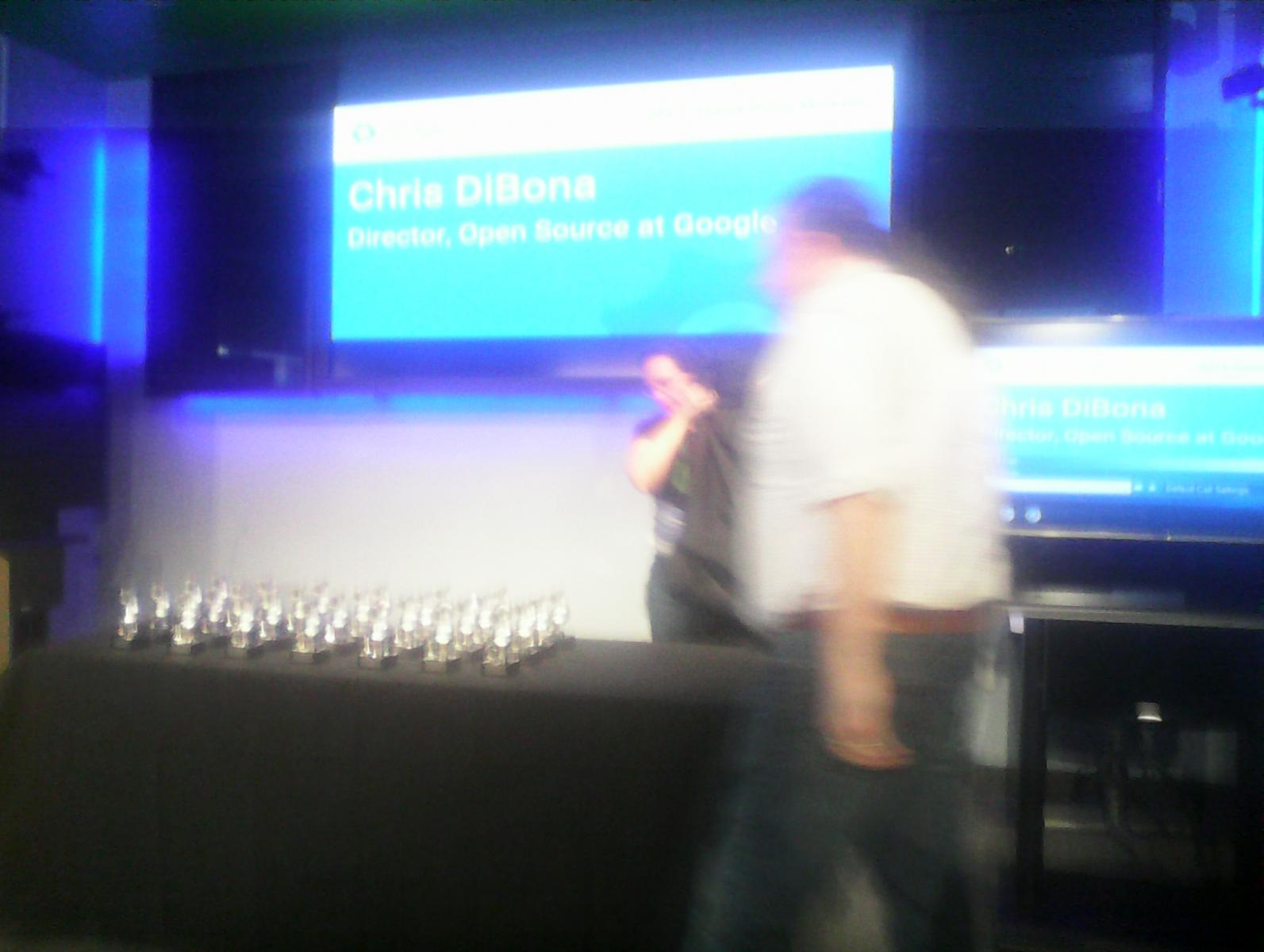 Trophies (no, that's not Google's buildings DRM, just a crappy tablet)