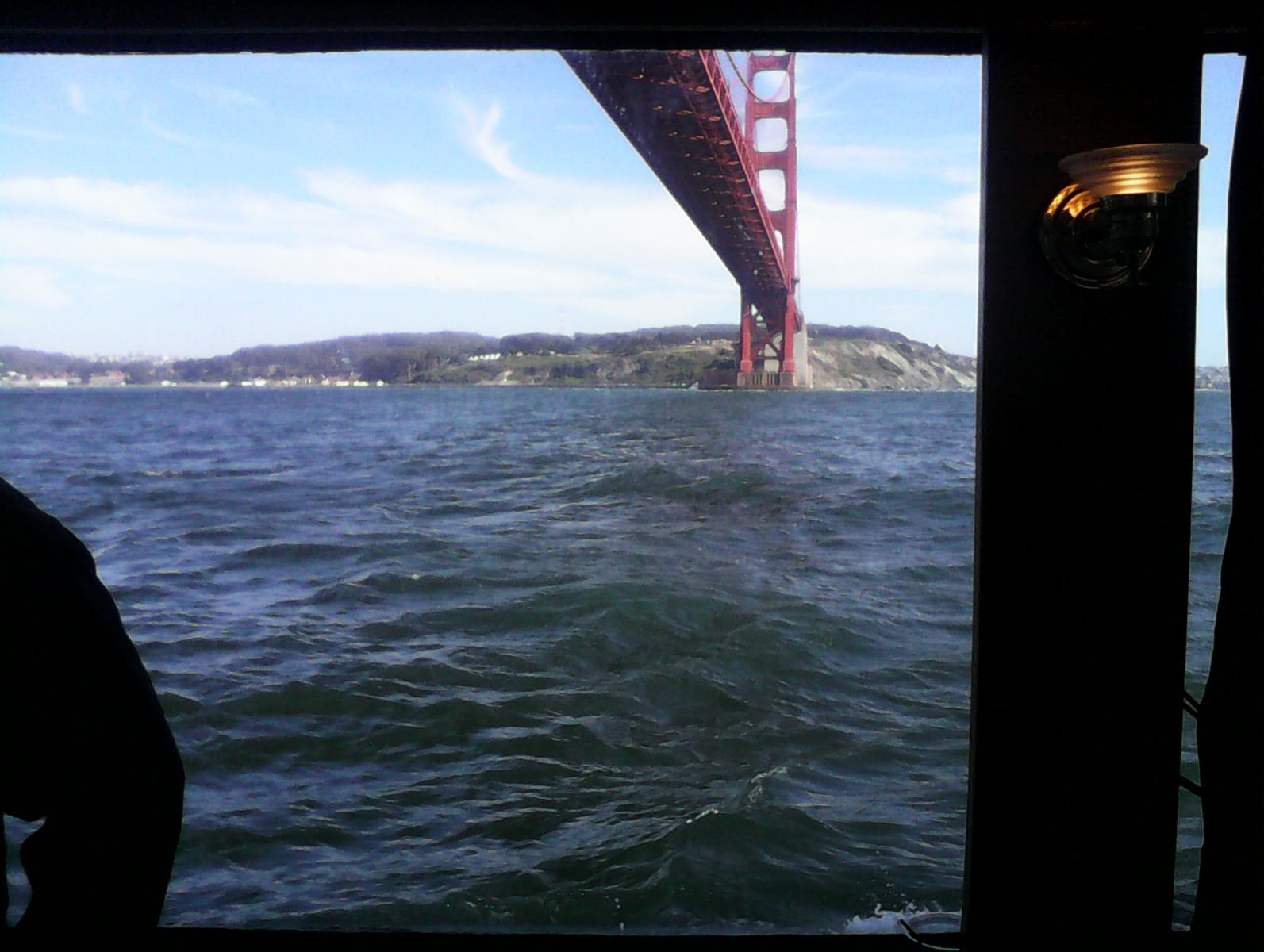 Golden Gate from the boat