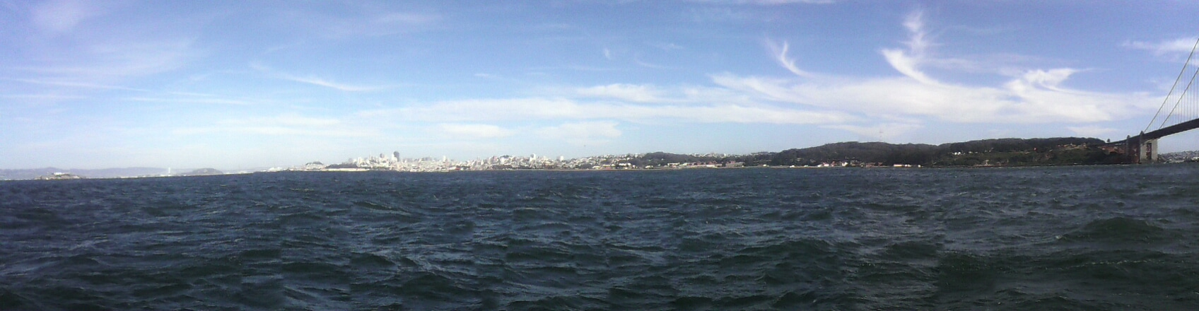 San Francisco from the boat