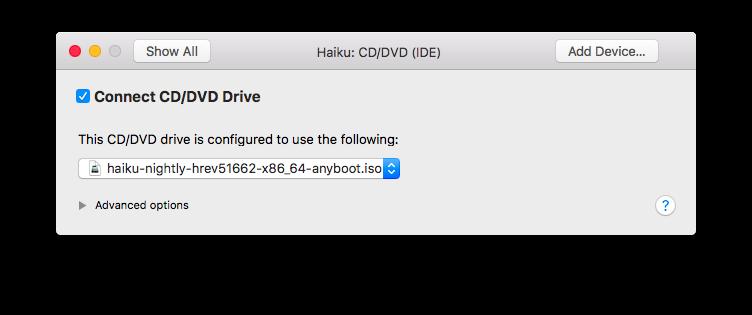 Emulating Haiku In VMware Fusion | Haiku Project