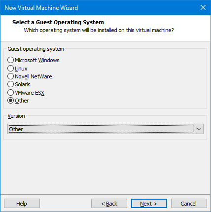 Virtualizing Haiku in VMware Workstation | Haiku Project