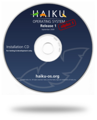 Haiku R1 Alpha 1 CD