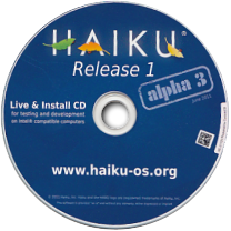 Haiku release 1 aplha 3