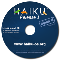Haiku R1 Alpha 4 CD