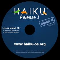 Haiku R1 Alpha 4 Commemorative CD