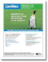 LinuxWorld Expo 2008 Free Pass (PDF)