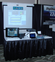 Haiku booth at SCaLE 2009