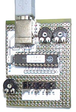 Figure 2: JoyWarrior24 A8-8 USB Joystick Controller