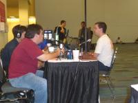Darkwyrm doing a radio interview with NOOSS