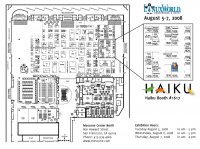 LinuxWorld 2008 Floor Plan